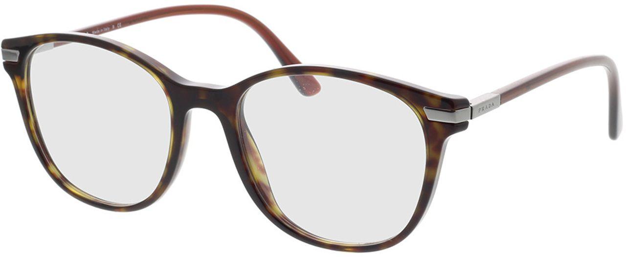 Picture of glasses model Prada PR 02WV 01A1O1 54-19 in angle 330