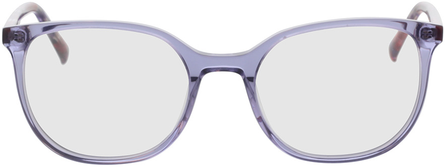 Picture of glasses model Colima-lila-transparent in angle 0