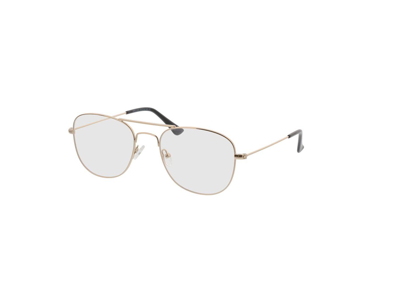 4774-singlevision-0000 Quincy-gold Gleitsichtbrille, Vollrand, Pilot Brille24 Collection