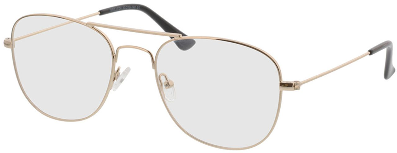 Picture of glasses model Quincy-gold in angle 330