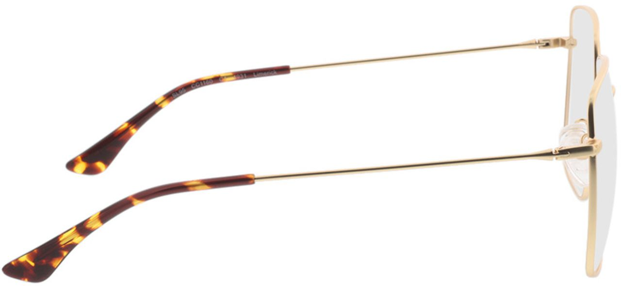 Picture of glasses model Limerick-gold in angle 90