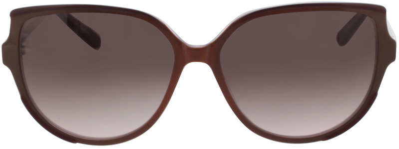 Picture of glasses model Comma, 77124 76 rotbraun 56-14 in angle 0