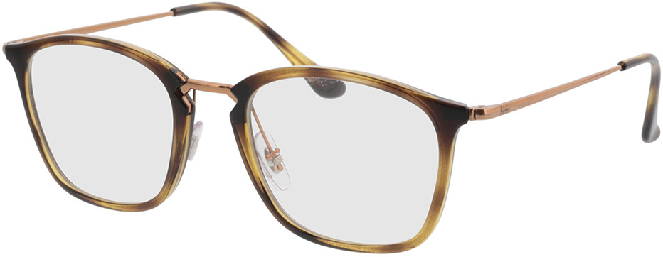 Picture of glasses model Ray-Ban RX7164 5881 52-20 in angle 330