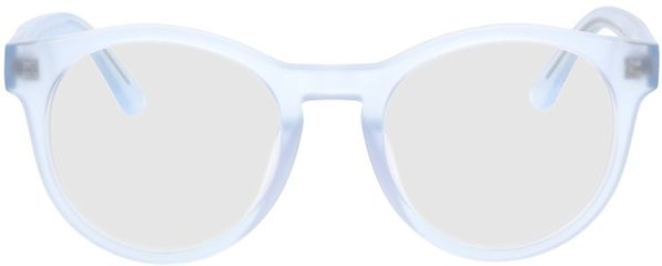 Picture of glasses model Caiguna-blue_transparent in angle 0