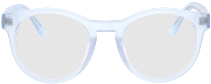 Picture of glasses model Caipulvera Mat/blauw in angle 0