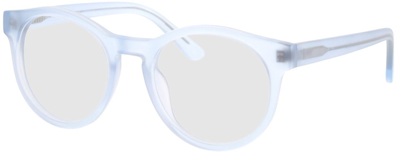 Picture of glasses model Caiguna-blue_transparent in angle 330