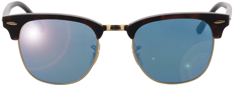 Picture of glasses model Ray-Ban Clubmaster RB 3016 114517 49-21 in angle 0