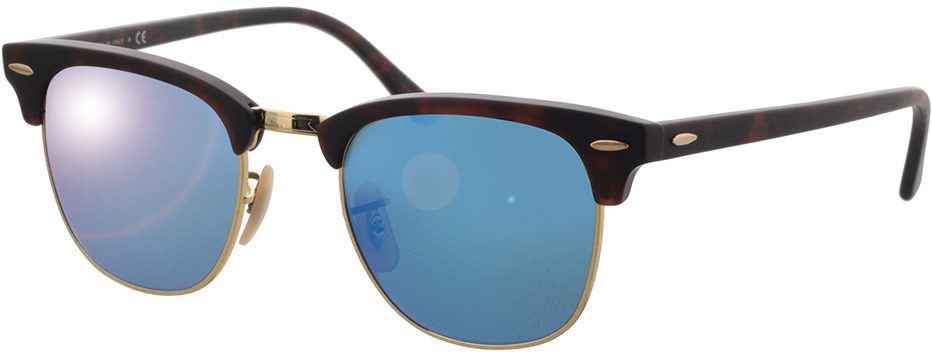 Picture of glasses model Ray-Ban Clubmaster RB 3016 114517 49-21 in angle 330