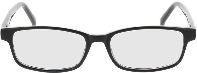 Picture of glasses model Klaros Zwart in angle 0