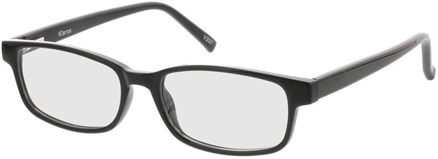 Picture of glasses model Klaros Zwart in angle 330
