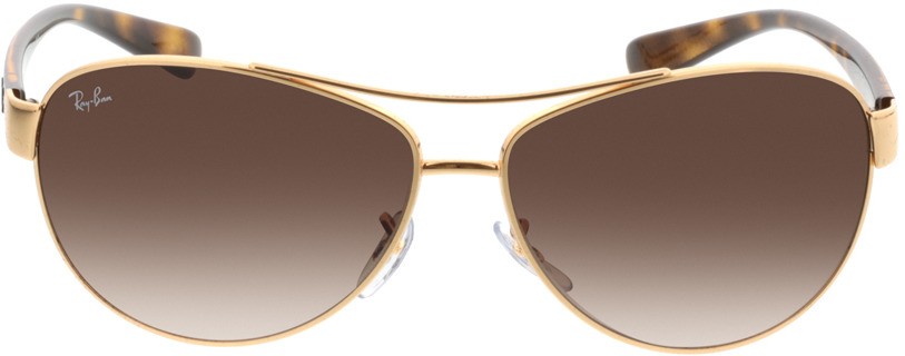 Picture of glasses model Ray-Ban RB3386 001/13 63-13 in angle 0