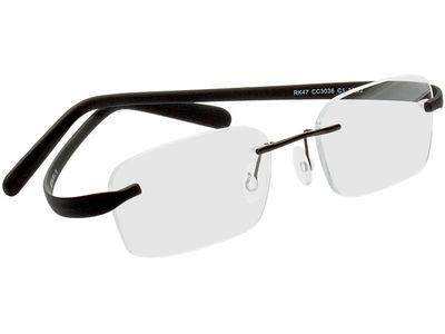 Brille Badalona-schwarz