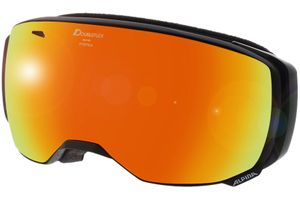 Alpina Skibrille ESTETICA HM Black Matt Mirror Red