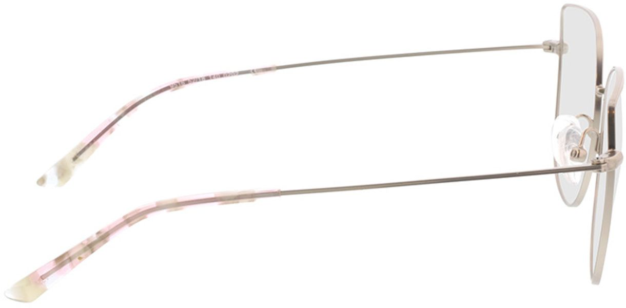 Picture of glasses model Cassis-silber in angle 90