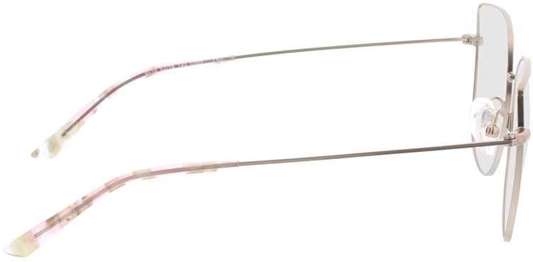 Picture of glasses model Cassis zilver in angle 90