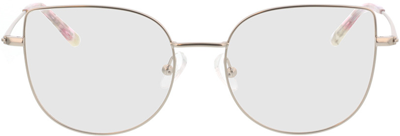 Picture of glasses model Cassis zilver in angle 0