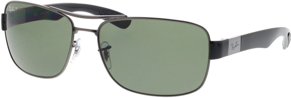 Picture of glasses model Ray-Ban RB 3522 004/9A 64-17 in angle 330