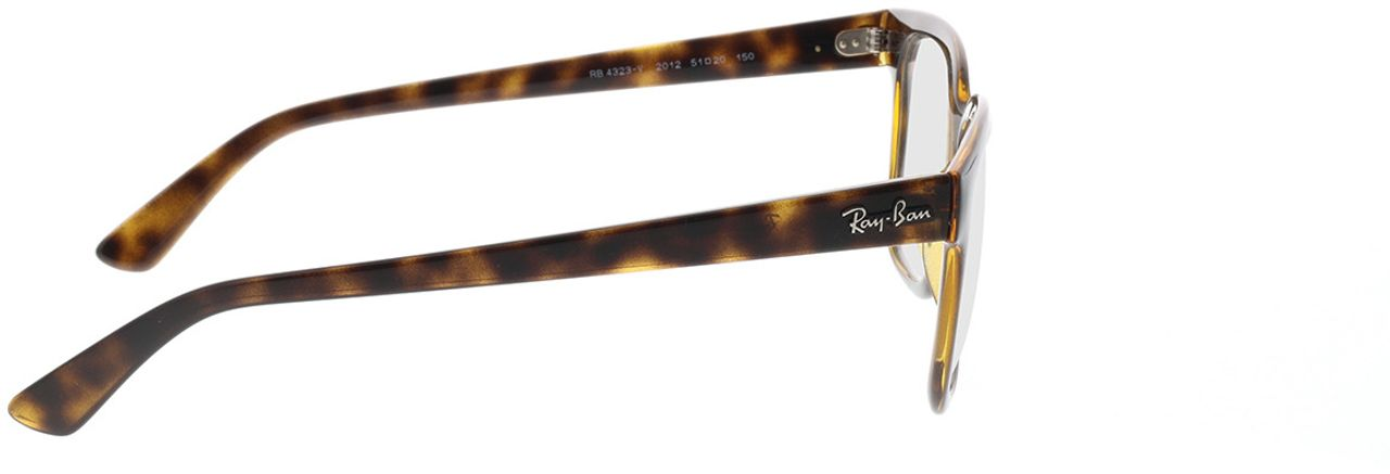 Picture of glasses model Ray-Ban RX4323V 2012 51-20 in angle 90