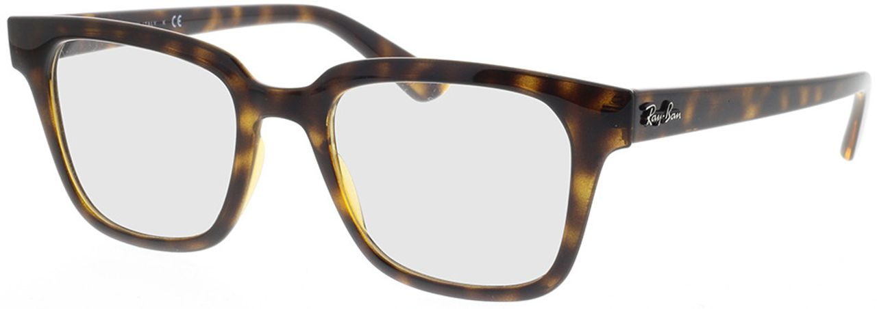 Picture of glasses model Ray-Ban RX4323V 2012 51-20 in angle 330