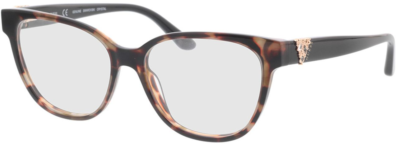 Picture of glasses model Guess GU2855-S 053 54-15 in angle 330