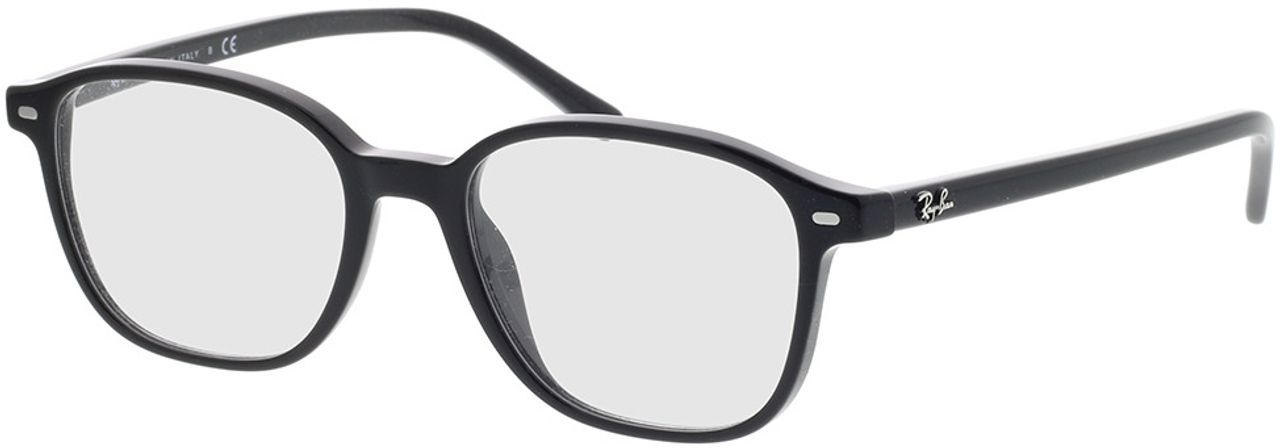 Picture of glasses model Ray-Ban RX5393 2000 49-17 in angle 330