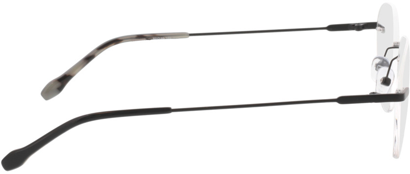 Picture of glasses model Vida-matt schwarz in angle 90