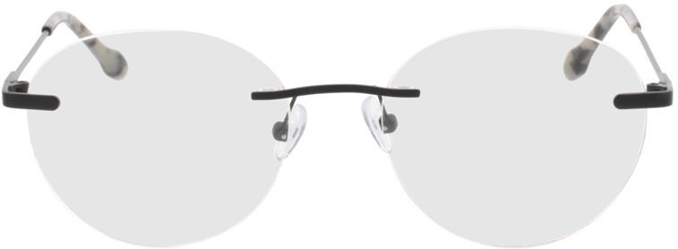 Picture of glasses model Vida-matt schwarz in angle 0