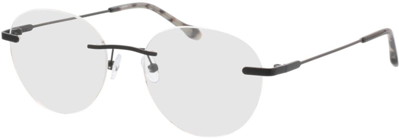 Picture of glasses model Vida-matt schwarz in angle 330