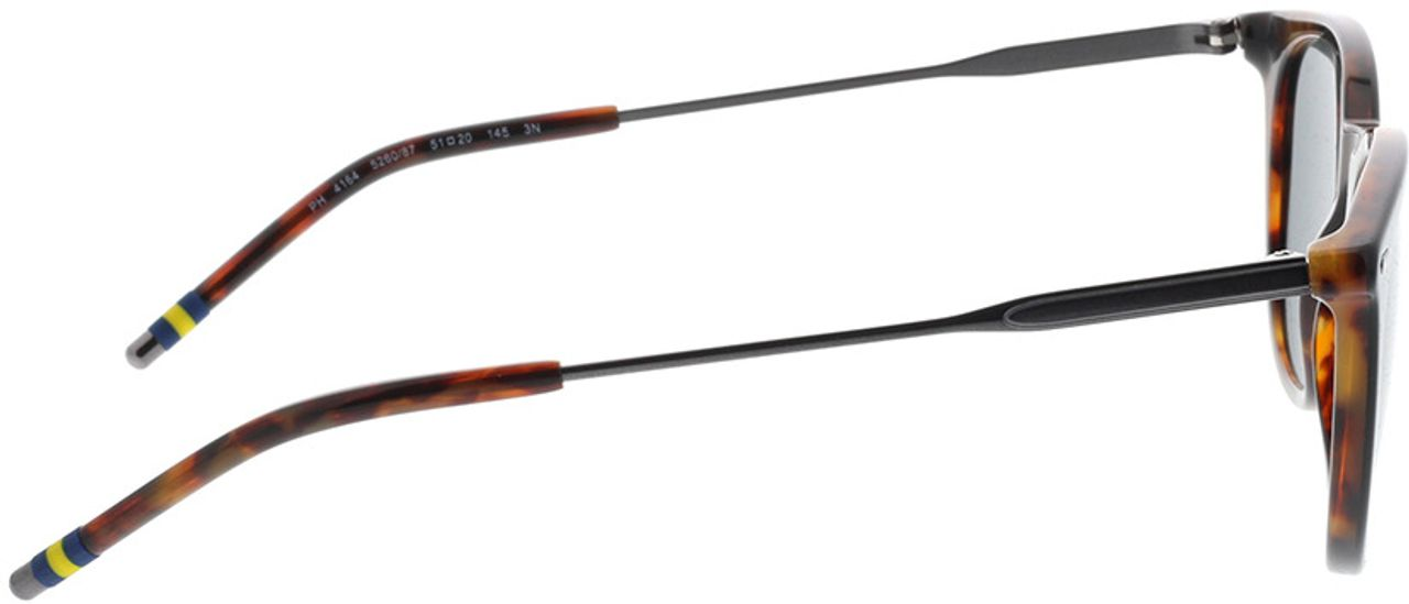 Picture of glasses model Polo Ralph Lauren PH4164 526087 51-20 in angle 90