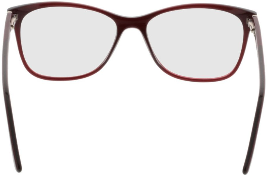 Picture of glasses model Comma70016 66 dunkelrot 52-15 in angle 180