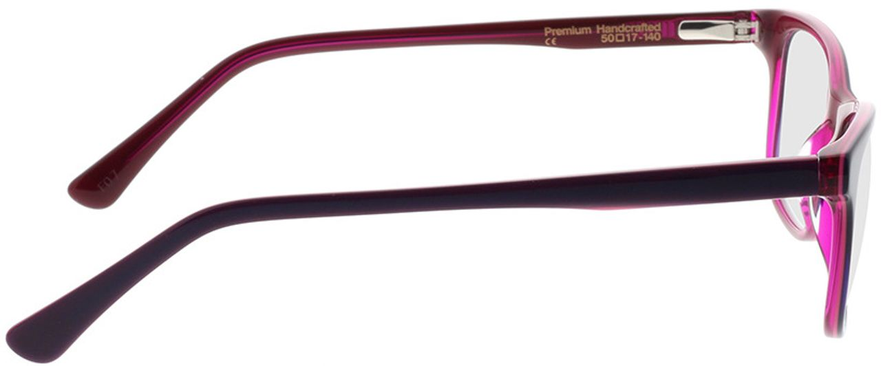 Picture of glasses model Superdry SDO Alix 161 pink 50-18 in angle 90