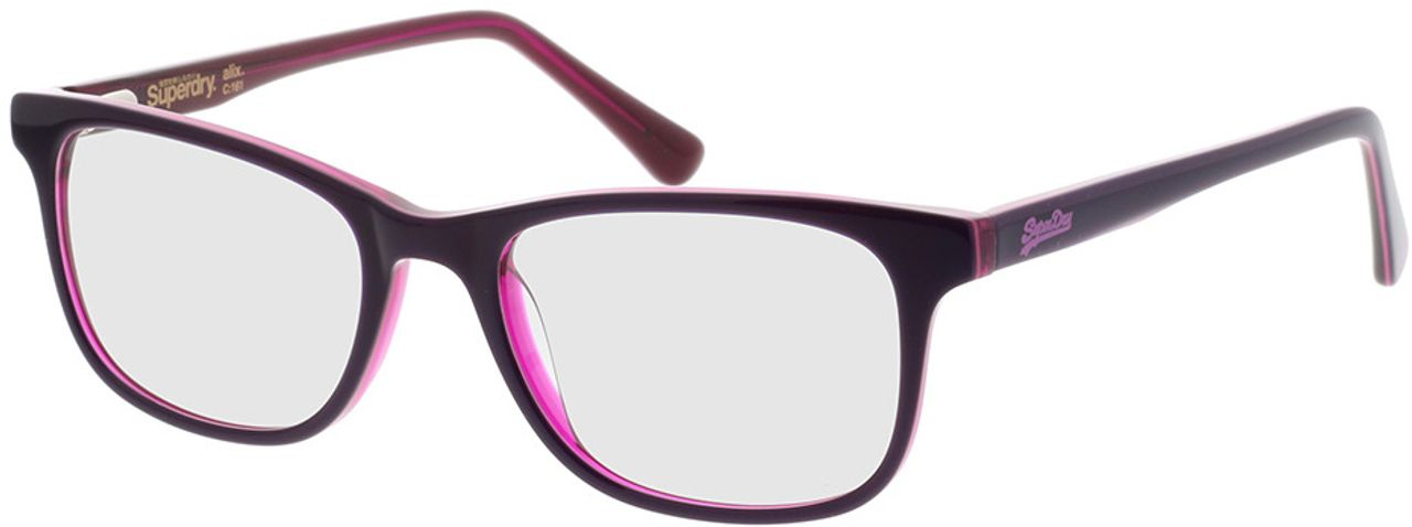 Picture of glasses model Superdry SDO Alix 161 pink 50-18 in angle 330