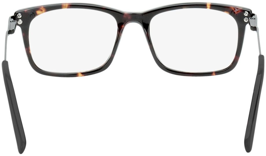 Picture of glasses model Montana-brown-mottled-black in angle 180