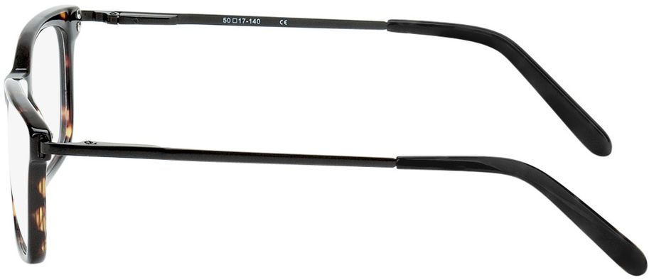 Picture of glasses model Montana-brown-mottled-black in angle 270