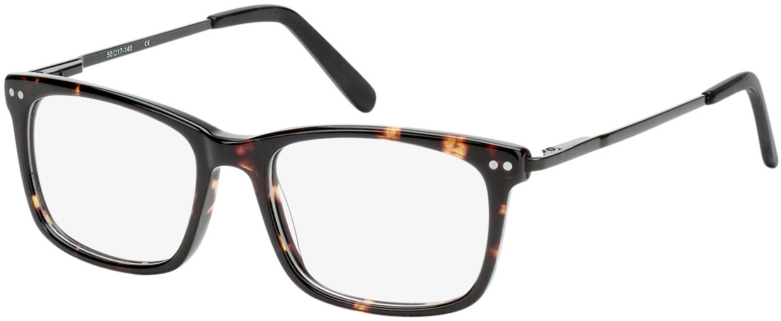 Picture of glasses model Montana donker bruin-gevlekt/zwart in angle 330