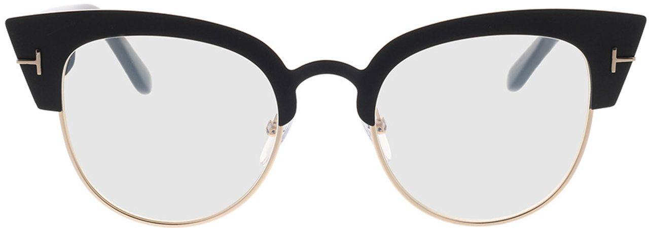 Picture of glasses model Tom Ford FT0607 005 in angle 0