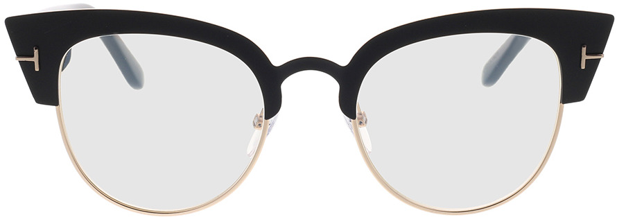 Picture of glasses model Tom Ford FT0607 005 51-21 in angle 0
