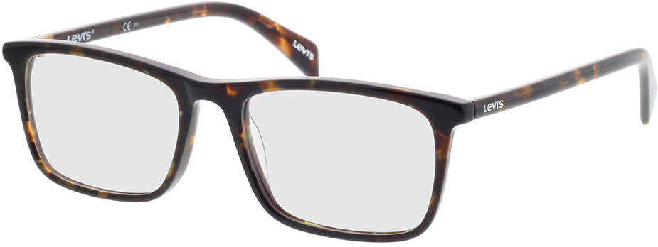 Picture of glasses model Levi's LV 1004 086 53-17 in angle 330