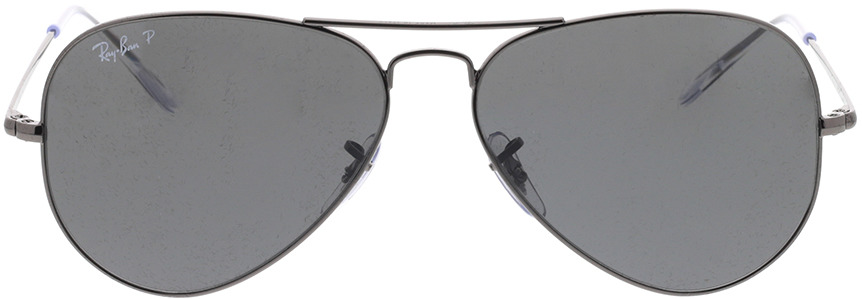 Picture of glasses model Ray-Ban RB3689 004/48 58-14 in angle 0