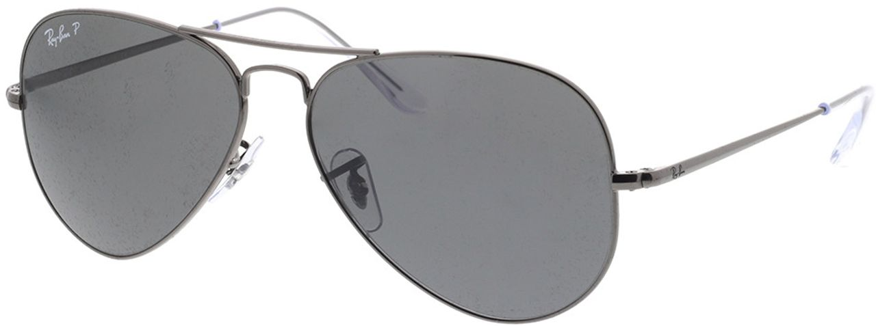 Picture of glasses model Ray-Ban RB3689 004/48 58-14 in angle 330