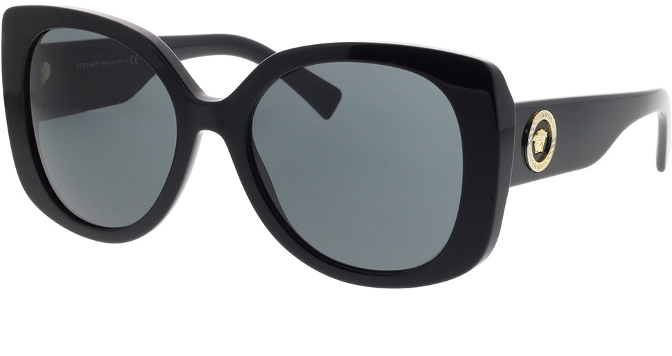 Picture of glasses model Versace VE4387 GB1/87 56-19 in angle 330