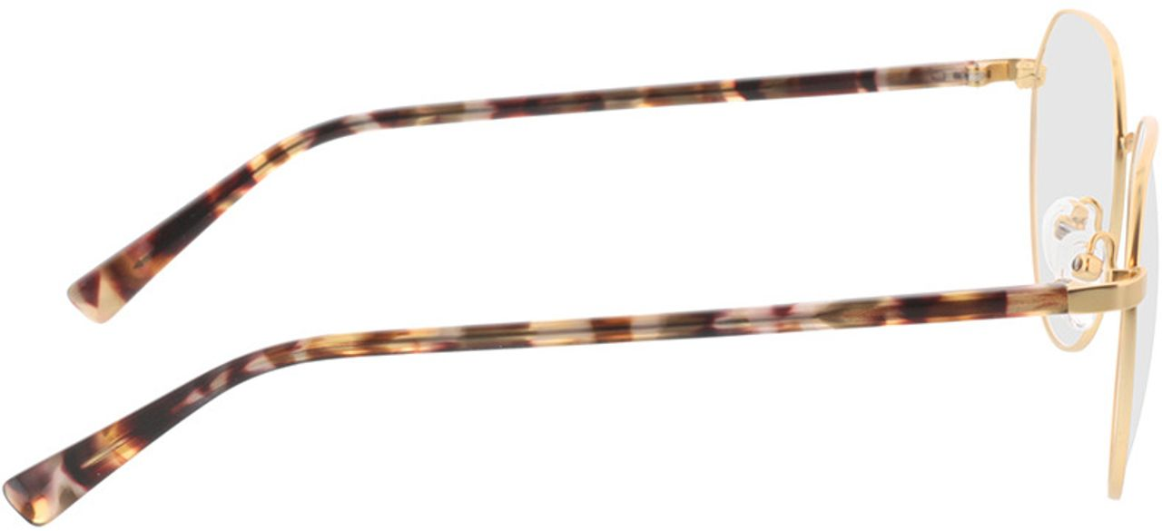 Picture of glasses model Eos-gold/gelb grau havana in angle 90