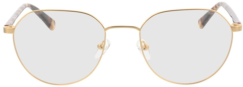 Picture of glasses model Eos-gold/gelb grau havana in angle 0