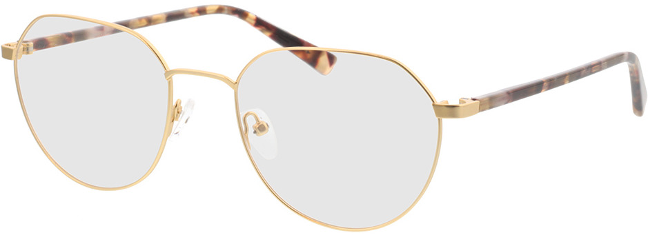 Picture of glasses model Eos-gold/gelb grau havana in angle 330