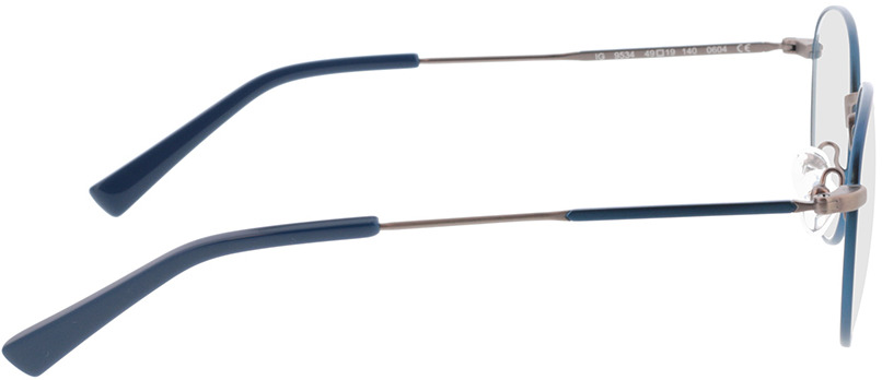 Picture of glasses model Cameron-blau/anthrazit in angle 90