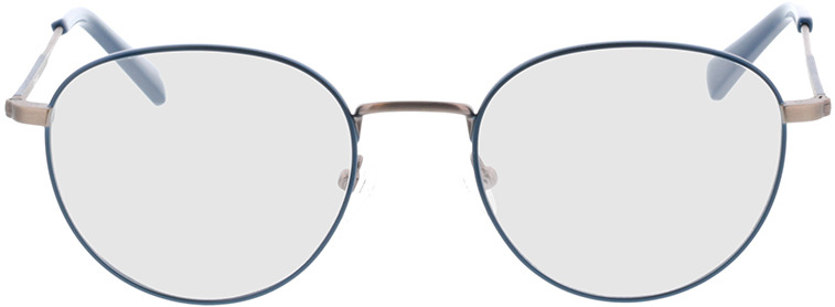 Picture of glasses model Cameron-blau/anthrazit in angle 0