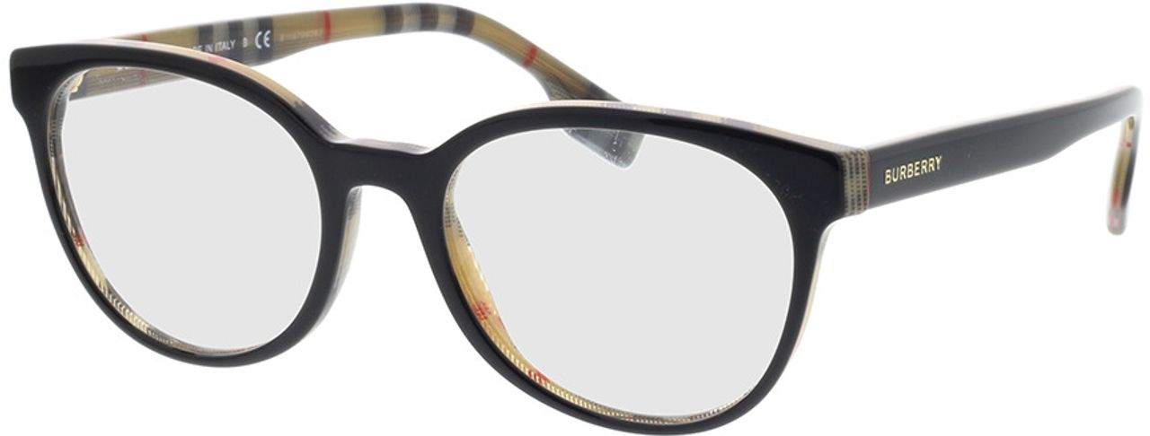 Picture of glasses model Burberry BE2315 3838 52-18 in angle 330