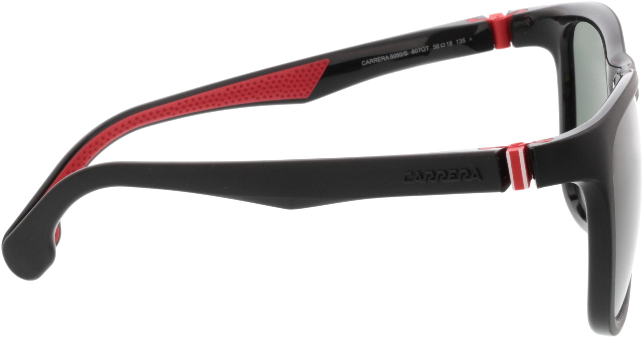 Picture of glasses model Carrera CARRERA 5050/S 807 56-18 in angle 90