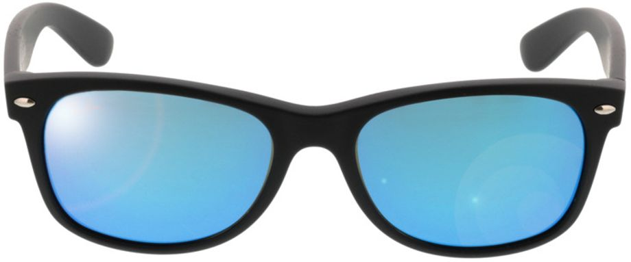 Picture of glasses model Ray-Ban New Wayfarer RB2132 622/17 55-18 in angle 0