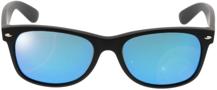 Picture of glasses model Ray-Ban New Wayfarer RB 2132 622/17 55-18 in angle 0